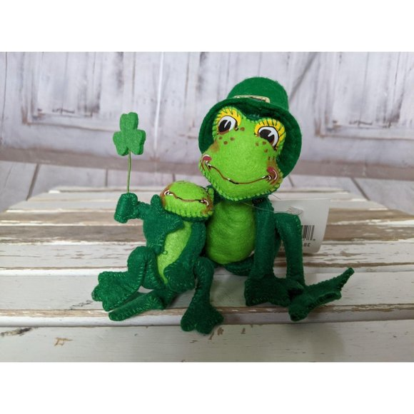 Annalee Other - Annalee Proud To Be Green Frogs St Patrick's Day I
